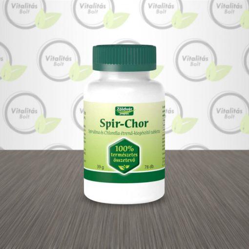 Zöldvér Program Spir-Chor 100% tabletta - 78 db