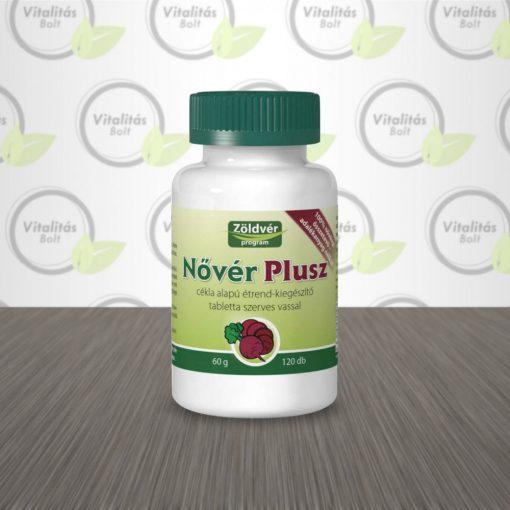 Zöldvér Program Nővér PLUSZ tabletta - 120 db