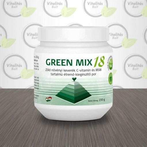 Zöldvér Program Green Mix 18 étrend-kiegészítő por - 150 g