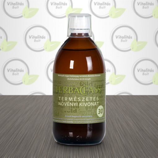 """HerbaClass Természetes növényi kivonat """"30"""" - 500 ml"""