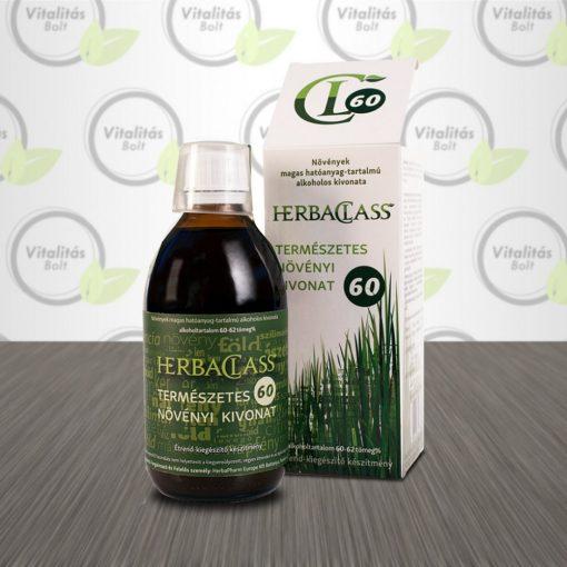 """HerbaClass Természetes növényi kivonat """"60"""" - 300 ml"""