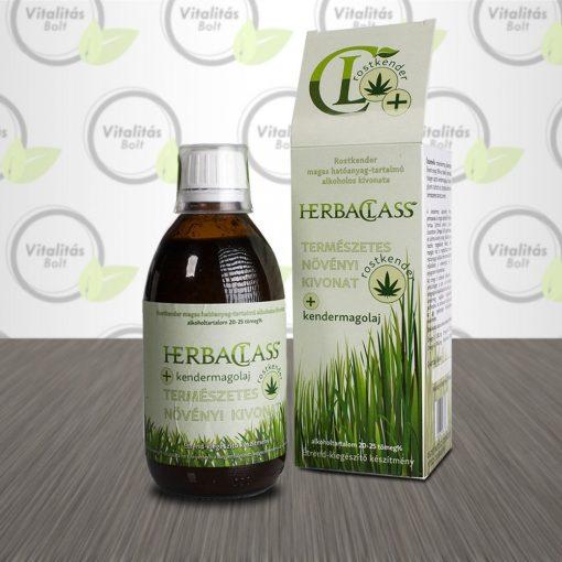 HerbaClass Természetes növényi kivonat Rostkender Kendermagolaj  - 300 ml