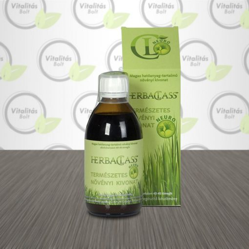 HerbaClass Természetes növényi kivonat Neuro- 300 ml