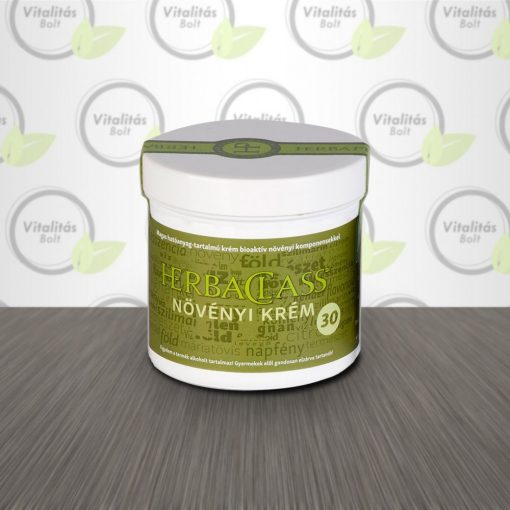 "HerbaClass Növényi krém  ""30"" - 300 ml"