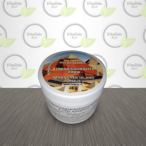 V.I.O. Étrend-kiegészítő Krém - 25 g