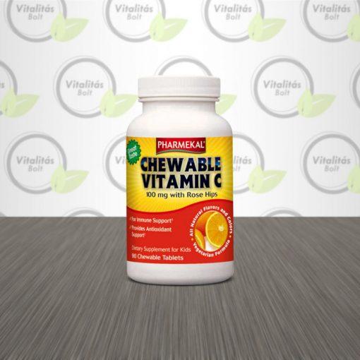 C-vitamin rágótabletta - 90db