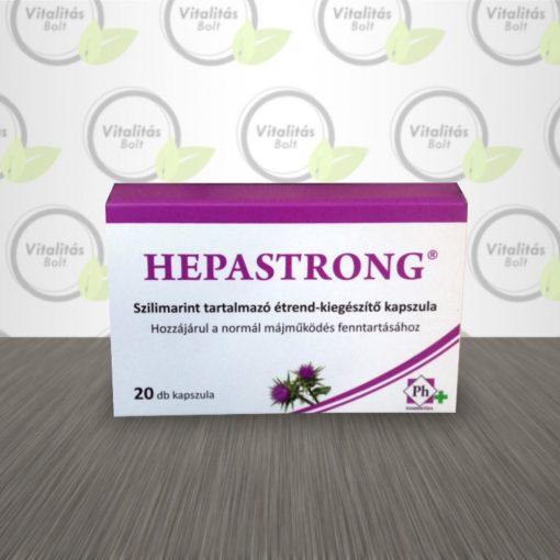 Pharmatéka Hepastrong kapszula - 20 db