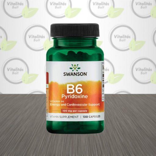 Swanson B6 vitamin - 100 db